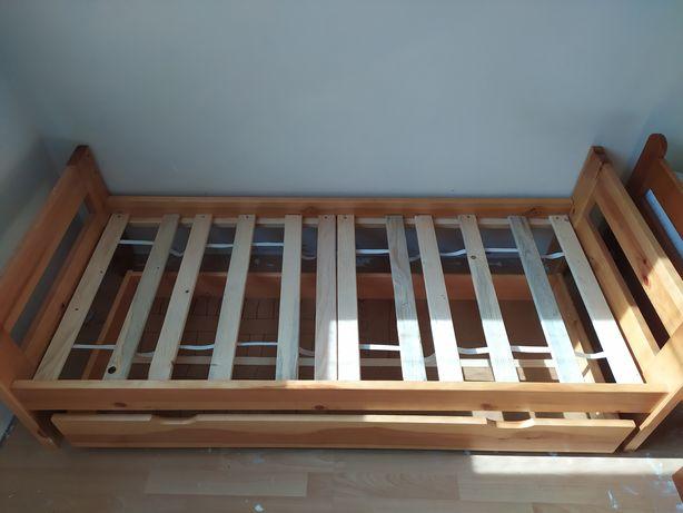 Łóżko dziecięce o wymiarach 70x160