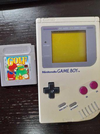 Game Boy Classic DMG + jogo Mario Golf