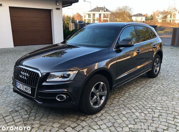 Audi Q5 2.0 TDI 190KM Quattro S line, Polski Salon, VAT 23%