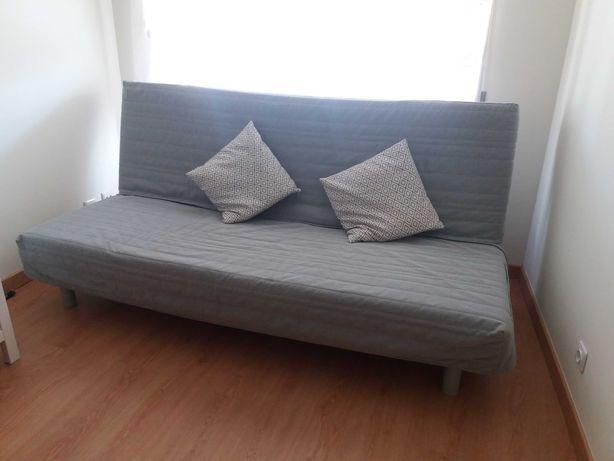 Oportunidade - sofa cama casal colchão IKEA - pouco uso