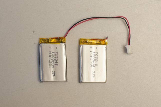 Аккумулятор lipo li-po литий-полимерный 703048 3.7В 1000mAh