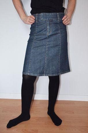 Spódnica jeansowa H&M roz 34