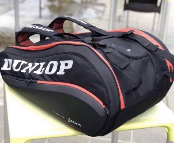 Saco Raquetes Termico Dunlop 12 Raquetes