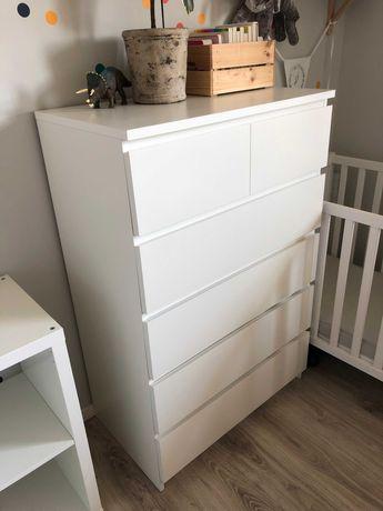Komoda Ikea MALM - 6 szuflad