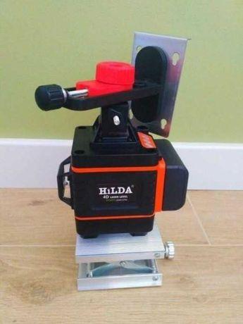 Доставка бесплатная Лазерный Уровень HILDA 4D 16 линий Новый
