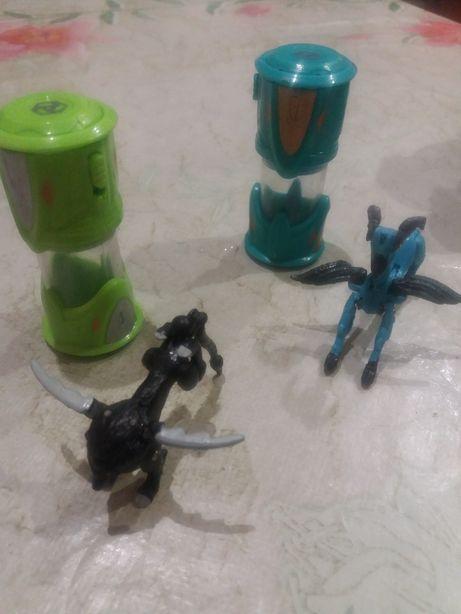 Игрушки в капсуле трансформеры