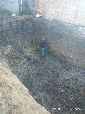 Земельні роботи, демонтаж, покрівля, бетон