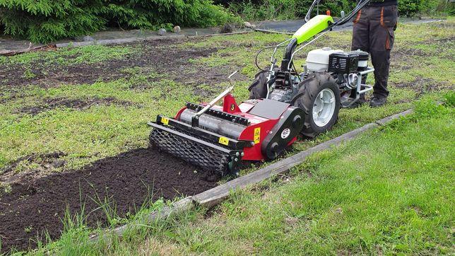Usługi glebogryzarką separacyjną, zakładanie ogrodów, nawadniania