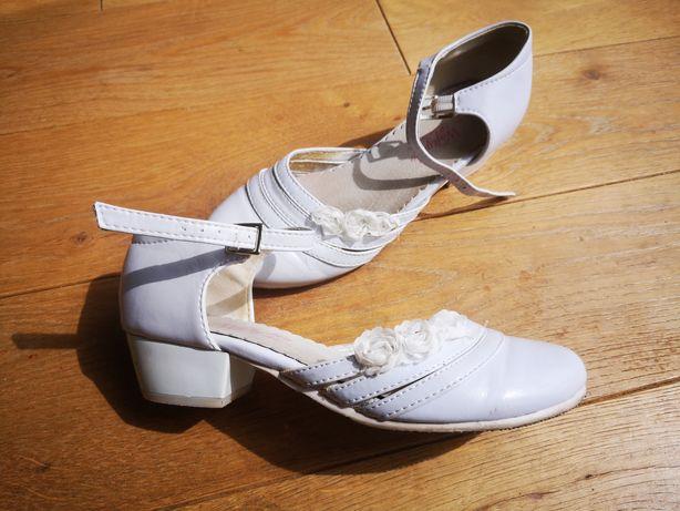 Buty komunijne białe Wojtyłko