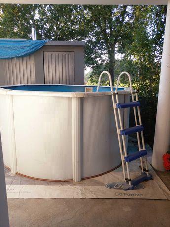 piscina  GRE FIDJI 240 X 120 cm