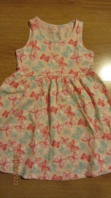 Sukienka dziewczęca 101-107cm.