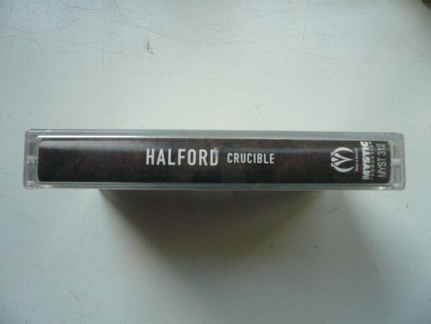 wyprzedaż kolekci kaset magnetof. audio Yello Manowar Ministry Halford