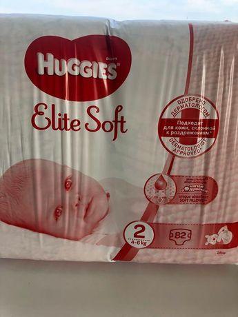 Підгузи Huggies Elit Soft 82 шт , ціла пачка