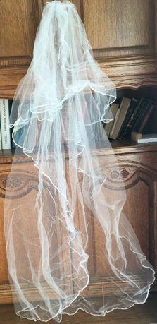 Nowy welon do sukni ślubnej