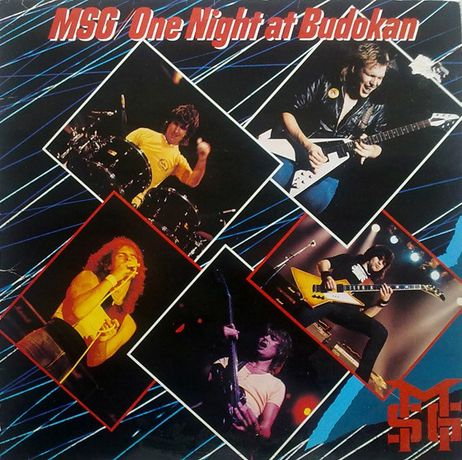 The Michael Schenker Group ‎– One Night At Budokan, 2 × Vinyl