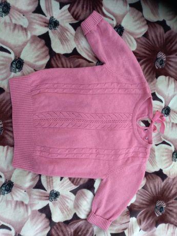 Bluzeczka akrylowa sweterek papaya
