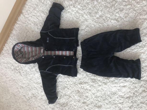 Komplet bluza spodnie 62