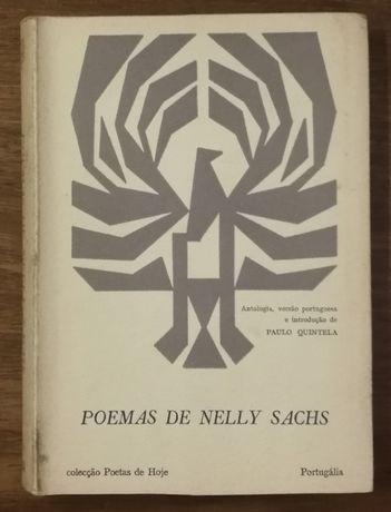 poemas de nelly sachs, paulo quintela, colecção poetas de hoje