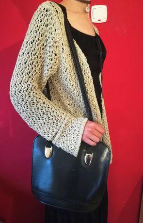 Elegancka torebka na ramię Mauricio Fuggi włoska vintage