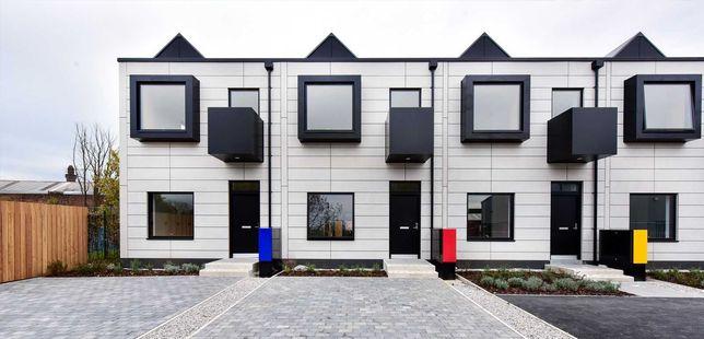 10 domów szeregowych jednorodzinnych 100 m2 domy modułowe MTB Modules