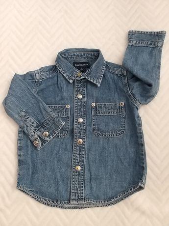 Koszula dżinsowa Ralph Lauren