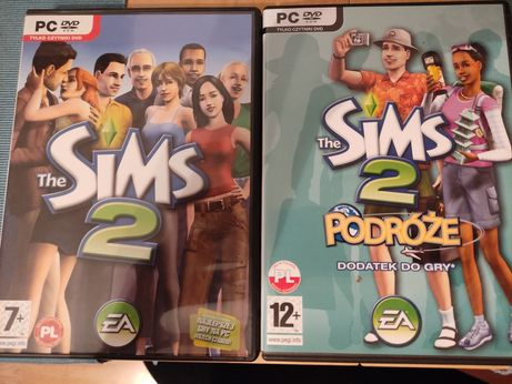 Sims 2 podstawa i Sims 2 Podróże