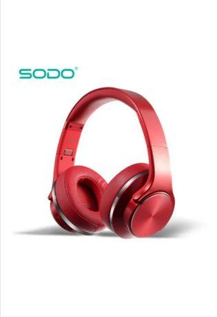 Беспроводные наушники Bluetooth SODO MH5 с динамиком