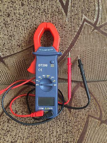 Кліщі-тестер (мультиметр) Digital DT-200