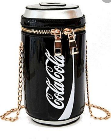 Модная оригинальная стильная сумка  с надписью Coca-Cola тренд 2021