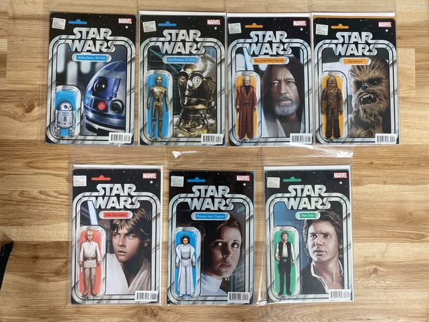 Komiksy Star Wars Marvel 2015 Action Figure Variant Cover