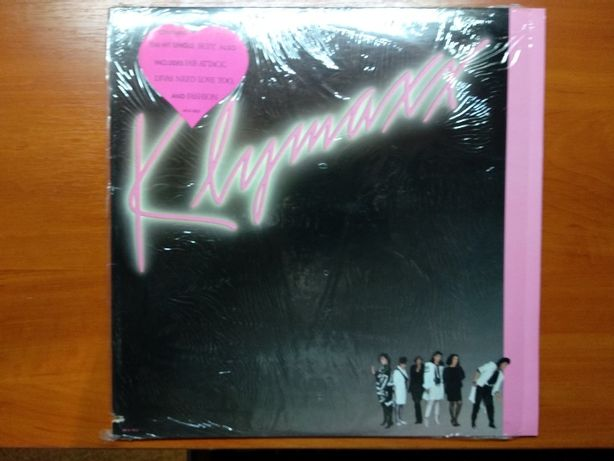 "виниловая пластинка ""klymaxx"" 1986  USA"