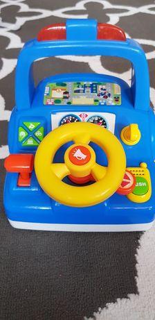 Kierownica zabawka grająca stan bardzo dobry