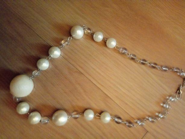 Naszyjnik korale kolekcja perłowa