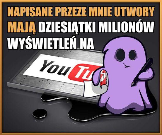 Pisanie tekstów piosenek dla czołowych artystów w Polsce GHOSTWRITING