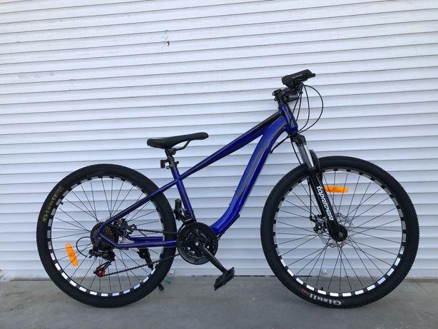 """Горный новый велосипед 29"""" 17 рама синий"""