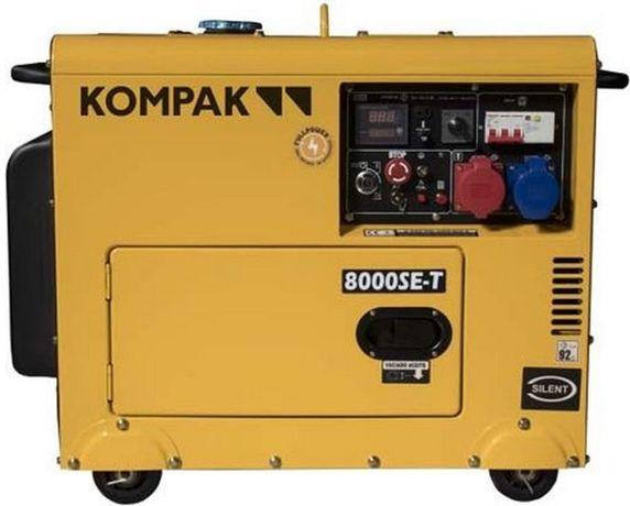 Gerador de corrente a diesel Arranque eléctrico 7,9 kVA 400V