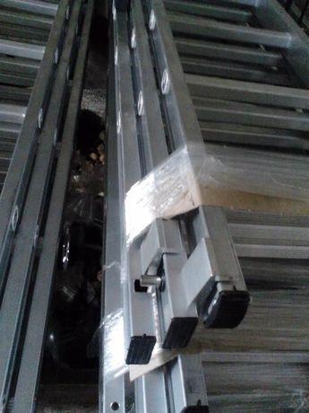 Лестница алюминиевая Драбина 3-х секц. универсальная раскладная ПОЛЬЩА