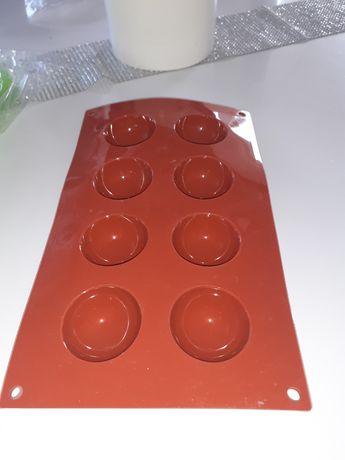 Forma silikonowa półkule Silikomart