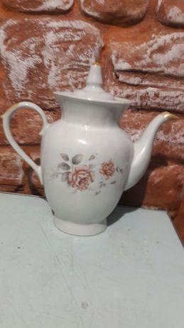Фарфоровый чайник СССР конфетница.