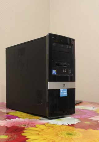 Компьютер системный блок для бухгалтеров HP Pro 3120 MT WU564EA, б/у
