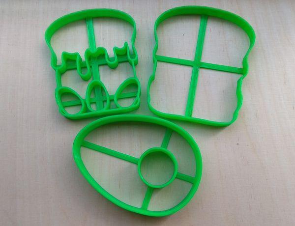 Вирубки , форми, штампи для печива (пряників)
