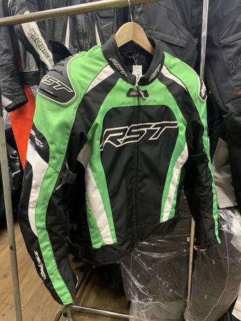 Kurtka motocyklowa RST tractech evo 3 zielona garb rozm 58, tekstylna