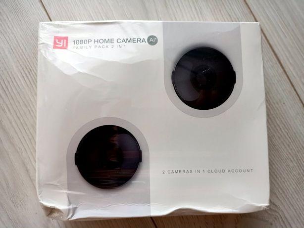 YI 1080p home - zestaw 2 kamerek FULL HD Monitoring wewnętrzny