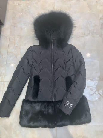 Пуховик куртка Galliano Гальяно на девочку подростка 12-14 лет.