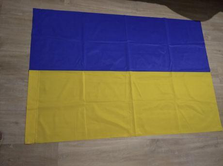 Флаг прапор Украины большой