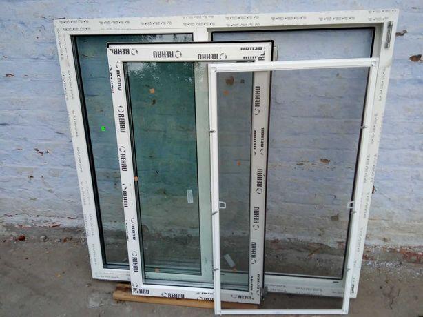 Металлопластиковое окно REHAU МПО Высота 1280 ширина 1340