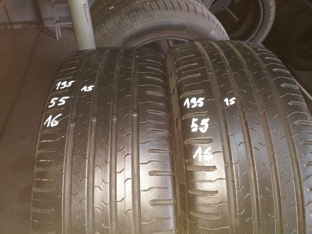 Opony letnie 195/55 R16 Continental 6,5 mm