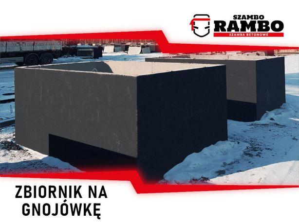 Zbiornik Betonowy 12m3 Na Gnojówkę Wodę Deszczówkę Szambo Betonowe