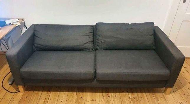 Kanapa sofa Ikea Karlstad grafitowa szara