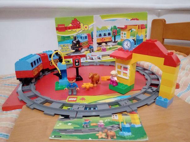 Конструктор Лего дупло лєго Мой первый поезд. Железная дорога 10507